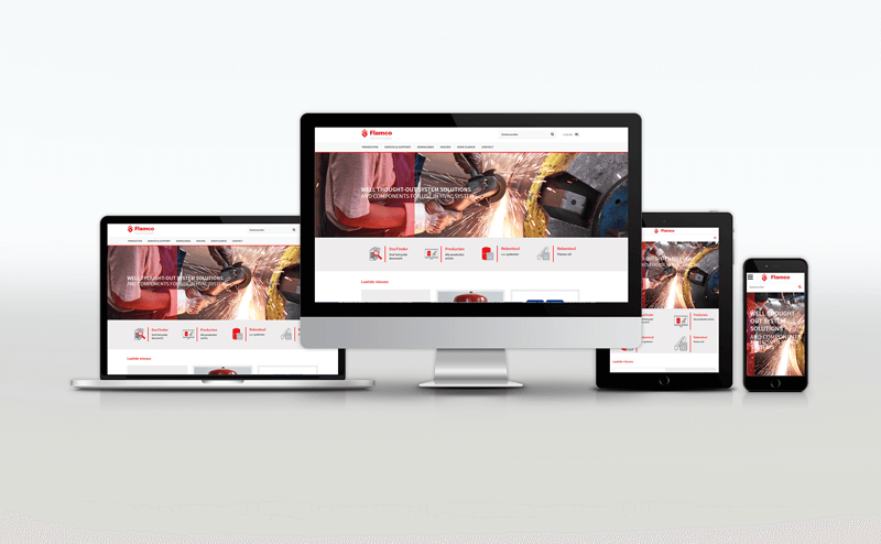 Новый общедоступный веб-сайт Flamco